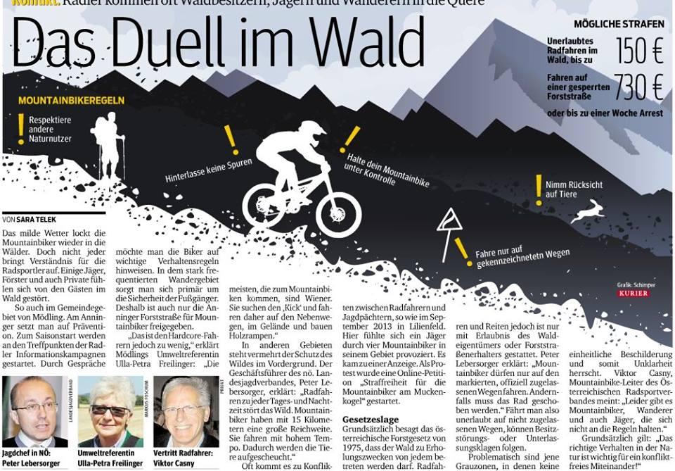Artikel: Das Duell im Wald